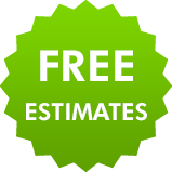 Free estimates on roofing work
