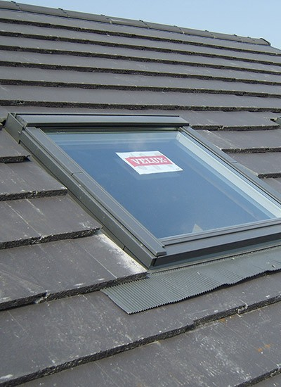 Toughened glass with Velux windows